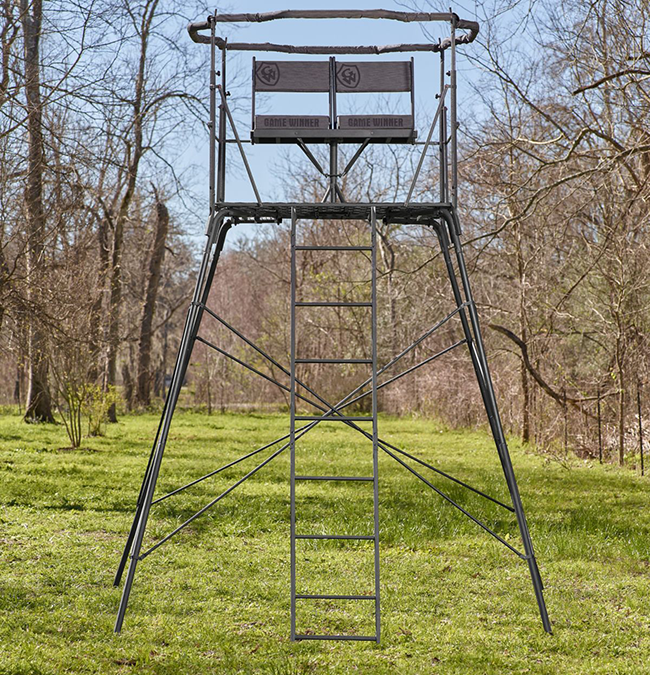 Game Winner 2-Man Quad Pod Hunting Stand