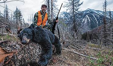 Montana's vast wilderness provides the backdrop for a test of fortitude on the hunt for trophy black bears.