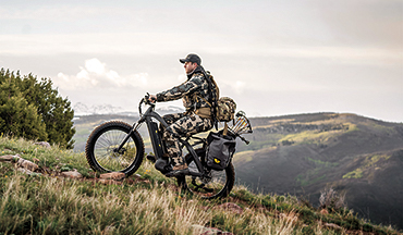 Next-gen electric bikes are more practical than ever for the outdoorsman.