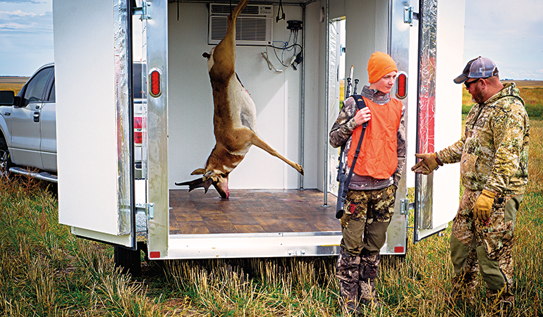 How to Keep Game Meat Cool During Early Season Hunts