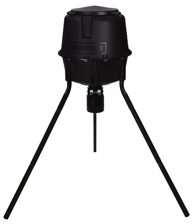 Moultrie Deer Feeder Pro 30-Gallon Tripod Feeder
