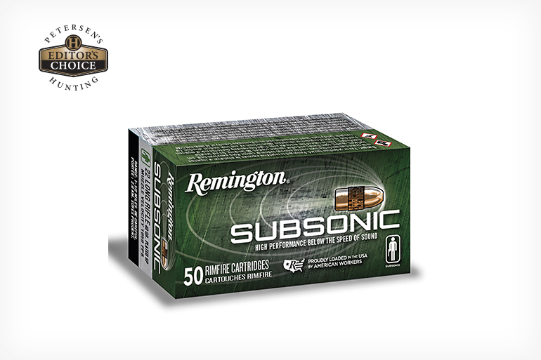 Remington Subsonic Rimfire