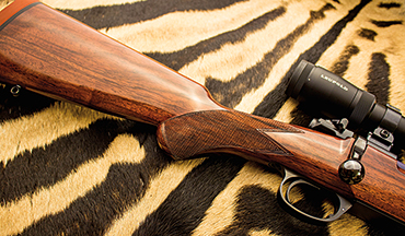 The Rigby Highland Stalker pays homage to the riflemaker's European heritage.