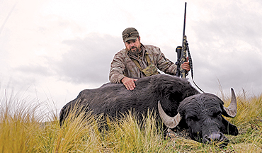 When a water buffalo charges, you'd better have a big bore.