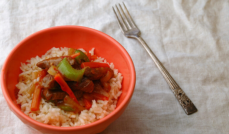 Spicy Asian Elk Venison Stir-Fry Recipe