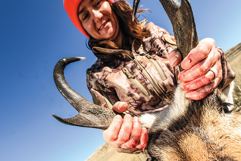 First Blood: A Women's-Only Wyoming Pronghorn Hunt