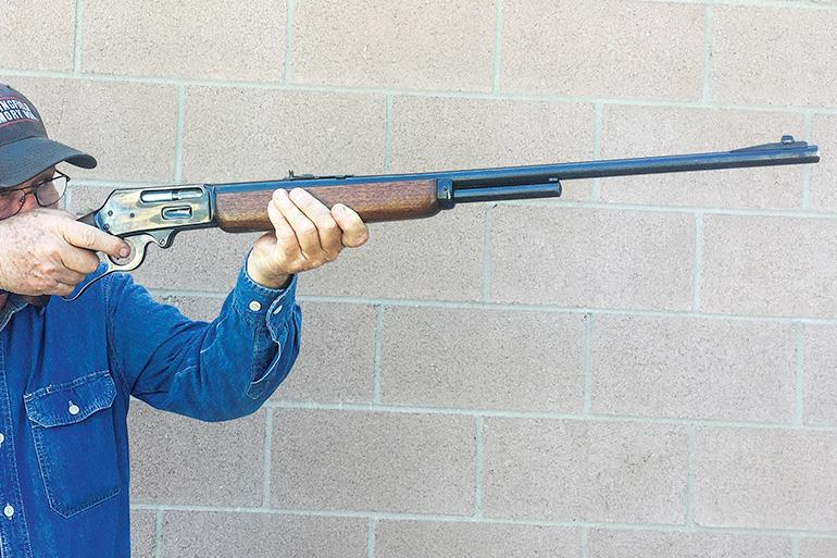 A little history on the Marlin 336A lever-action rifle.