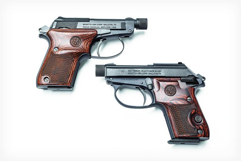Beretta 21A Bobcat and 3032 Tomcat .22LR Pistols