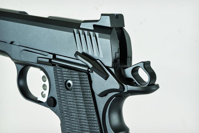 Ed Brown EVO KC9 LW 1911 9mm Pistol Rear Sight