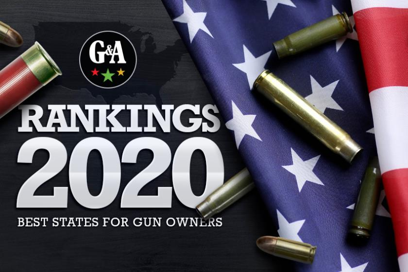 Guns & Ammo's annual ranking of gun-friendly states. From worst (New York) to best (Arizona), here are the best states for gun owners from data collected in 2020.