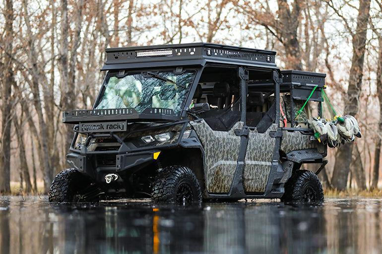 Can-Am Defender Max XMR with winch