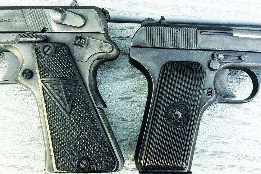 Tokarev TT-33 and Radom Vis-35 Pistol Grips