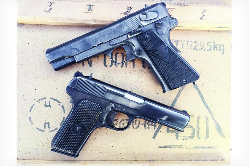 Browning, Luger and Walther designs get all the love, but the Tokarev and Radom were solid battle pistols as well; here's a little history and how they perform.