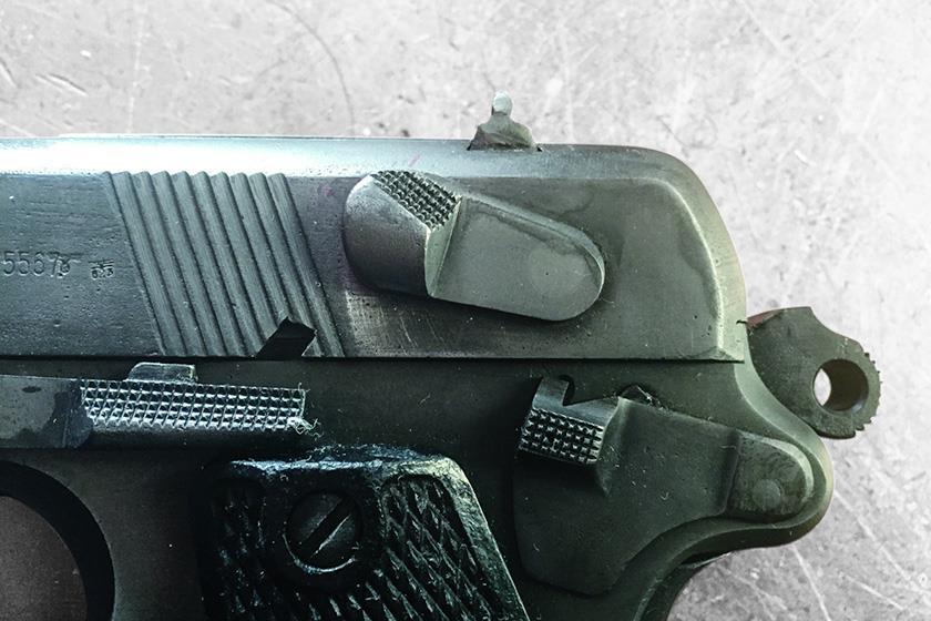 Radom Vis-35 Pistol Decocking Lever