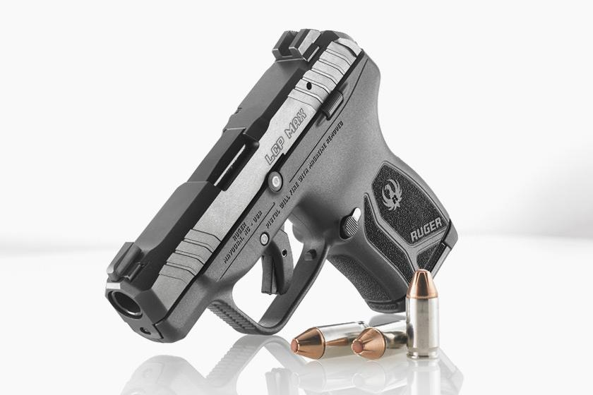 New Ruger LCP MAX Pistol Holds 10+1 Rounds of .380 Auto