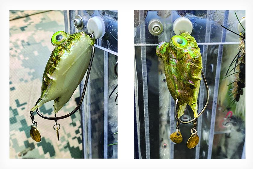 Fly Fishing for Snakeheads - Frog Fly