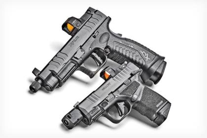 From optic cuts to compensators, today's pistol shooters are reaping the benefits of a technological revolution; Springfield's new Hellcat RDP and HEX red dots are results of the trend.