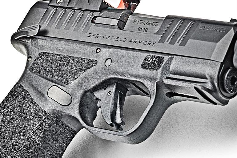 Springfield Armory Hellcat RDP 9mm Trigger and Thumb Safety