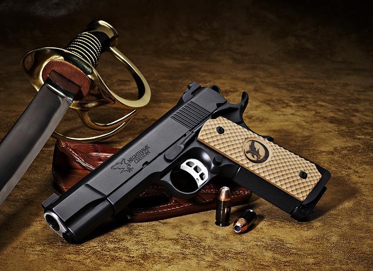 Top 10 Hunting Handguns of the Last 50 Years - Nighthawk Custom Falcon