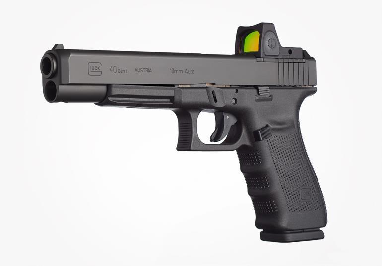 Top 10 Hunting Handguns of the Last 50 Years - Glock 40 MOS 10mm