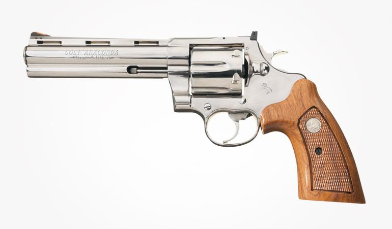 Top 10 Hunting Handguns of the Last 50 Years - Colt Anaconda