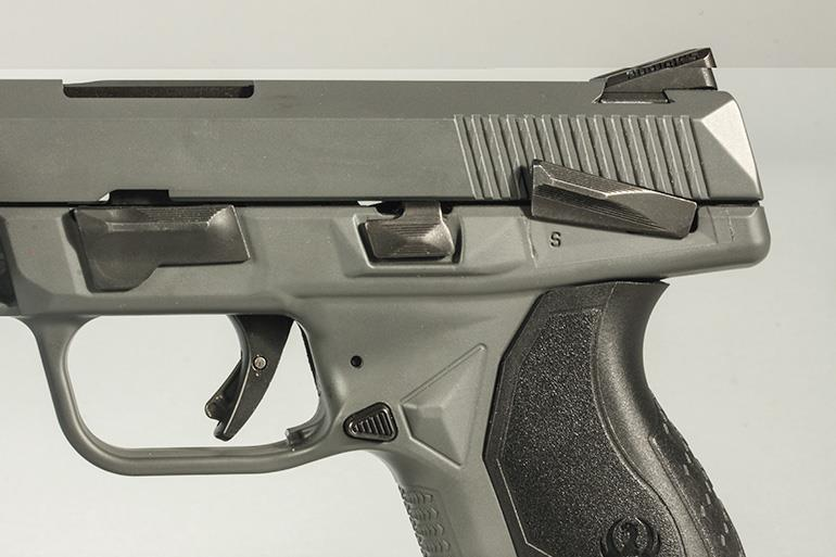 Ruger American Compact Pistol with or without a safety