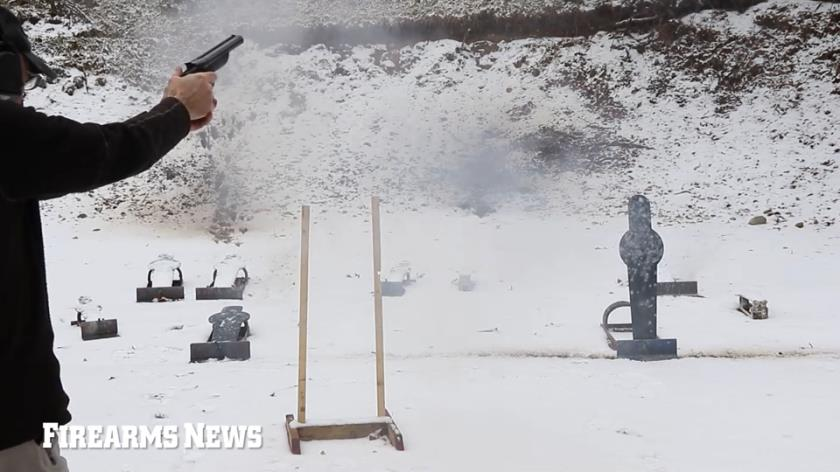 Patrick Sweeney tests the Diablo double-barreled 12-gauge handgun by American Gun Craft. Also, see his full review in Firearms News Issue #1, 2021.