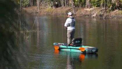 In this video we take a closer look at the Old Town Sportsman 120, a paddle only platform that rings in at under 1K and can be the perfect addition to a kayak purists fishing arsenal.