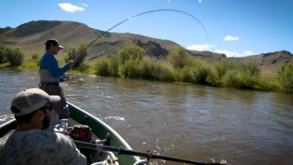 Editor and Publisher of Fly Fisherman magazine Ross Purnell makes the long journey to Mongolia to find and catch giant taimen trout.
