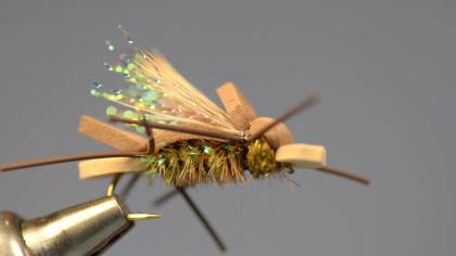 The Amy's Ant Fly, by Jack Dennis, was first designed for the Jackson Hole One Fly. Charlie Craven will show you to tie one up in this step-by-step video guide.