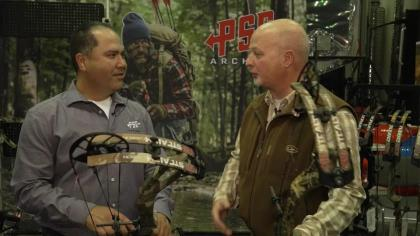 PSE's new lightweight rig weighs in at just 3.5 pounds and boasts speeds of up to 332 fps.