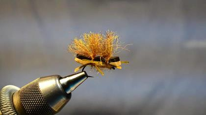 A step-by-step video guide for learning how to tie the Chubby Chernobyl fly.