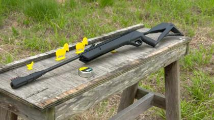 .22 Caliber air rifles are becoming more and more popular and this front loading, single shot rifle is easy use and very dependable. Discover all the features of the Surgemax Elite .22 and see how it can become a great training tool that's a lot of fun at the same time.