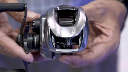 Daiwa's Curt Arakawa goes feature by feature about the Zillion baitcaster with Game & Fish's Dr. Todd A. Kuhn at ICAST 2021 in Orlando.