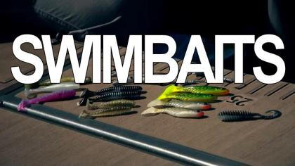 Want a soft-plastic bait that will let you cover water faster than finesse presentations? Reach for a swimbait. Give some thought to a swimbait's size and color, and to the weight of its head, in order to tailor the bait to the conditions. In this episode of Beyond the Bait, we'll show you how to maximize a swimbait's effectiveness when fishing for smallmouths.