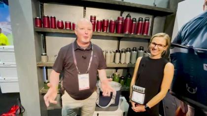 Legendary cooler maker can keep you organized in the field, boat or airport. With YETI's Hannah Killbride and OSG's Lynn Burkhead at ICAST 2021 in Orlando.