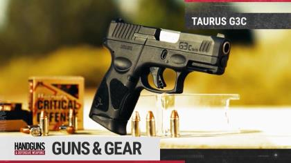 This compact version of the Taurus G3 is what Scott is talking about in this Guns & Gear.