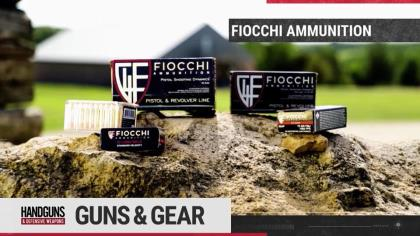 Rich showcases what Fiocchi Ammunition has to offer.