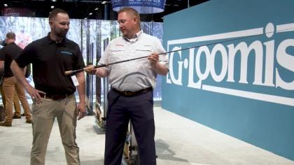 WithSpiral X technology, the G. Loomis NRX+ rods are lighter and stronger than ever, with28 rods for technique-specific actions. G. Loomis' Drew Sadler shares insight with In-Fishermsan's Todd Ceisner at ICAST 2021 in Orlando.