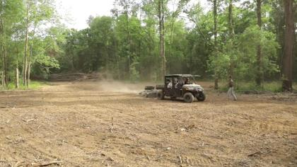 In Part 3 of this short web-series, Haynes Shelton and Sam Forbes go over the impressive details of the manageable UTV equipment they used to plant a warm-season food plot in North Carolina. When these two say manageable, they don't mean really small or really cheap; rather, manageable in the sense that this equipment is easy to transport into the field, easy to fit in tight spaces and easy to maintain and operate.