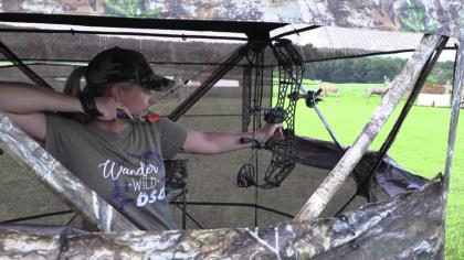 Whitetail hunting is most often preformed from some sort of a blind or stand, but many archers do not practice from these places. In this video, Coach Alli shows a few of her favorite ways to incorporate real-world hunting situations into your practice routine. Follow along to learn new ways to improve your archery skills.