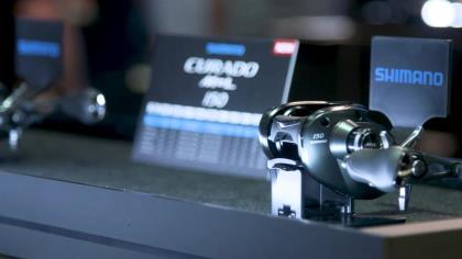 Weighing only 6.5 ounces, this new toy in the Curado line won't disappoint, says bass pro Alex Davis. With In-Fisherman's Todd Ceisner at ICAST 2021 in Orlando.