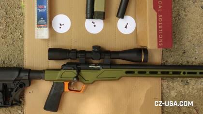 This good looking, tack-driving rimfire rifle features some great upgrades. Patrick Sweeney shows it off, along with its impressive groups.