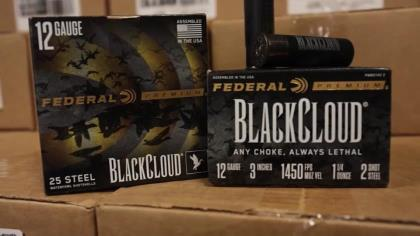Why Federal Black Cloud shotgun ammo continues to be a popular choice in the blind.