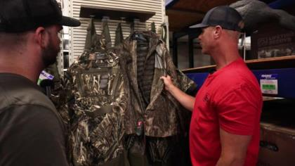 Taking a closer look at new camo clothing offerings from Banded-Avery.