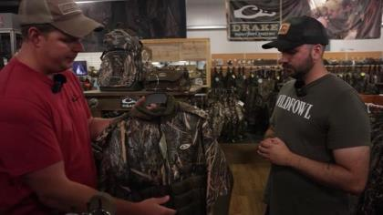 Drake Waterfowl has designed a complete clothing system designed to keep you comfortable from the first early season flight to the last late season hunt.