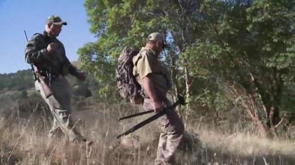 Craig Boddington and Ron Coburn of Savage Arms have an unfortunate situation as they are in search of a unique whitetail sub-species along Oregon's Columbia River.