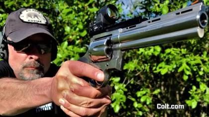 """Rikk Rambo is putting """"The Big Snake"""" to the test on the hunt for an Alaskan black bear."""