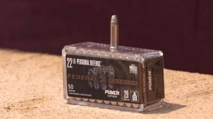 Federal has created a .22 LR cartridge for personal defense. Tom Beckstrand and Dan Compton show us here.