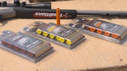 Haynes Shelton is with Federal's Dan Compton tested the new FireStick ammunition for a cleaner, easier way to hunt with your muzzleloader.